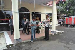 Sub Unit PJR Jatim V-2 Bersama Gugus Tugas Vovid 19 Kabupaten Jember Laksanakan Ops Yustisi Prokes Covid 19 sidang ditempat