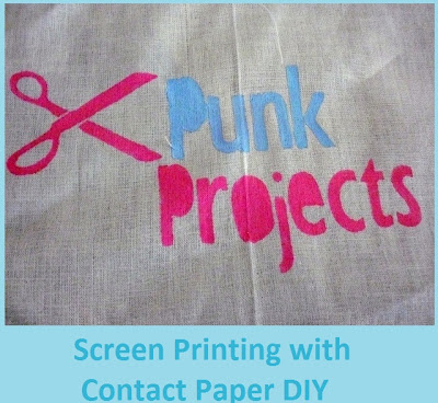Contact Paper Screen Printing