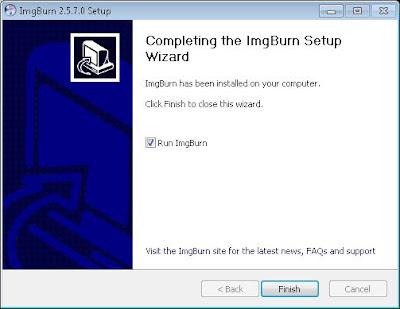 Crear fichero ISO a partir de CD/DVD con ImgBurn