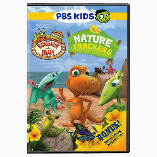PBS KIDS Dinosaur Train: Nature Trackers DVD