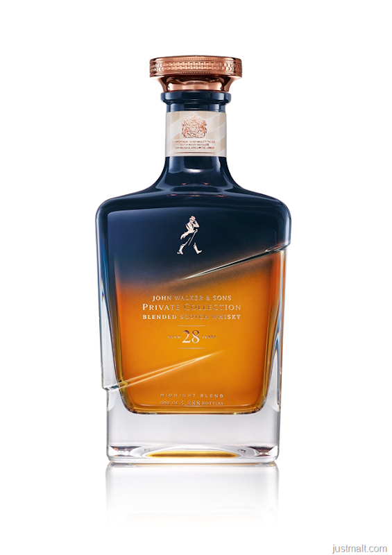 Johnnie Walker Introduces 28 Year Old Midnight Blend