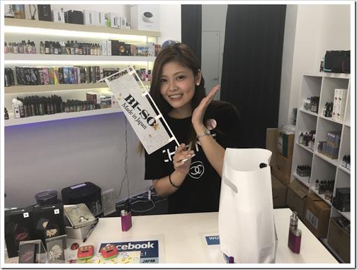 IMG 4621 thumb - 【ショップ訪問】World Vape Shop Japanにお邪魔してきた!イケボ店長と美しすぎるショップ店員の織りなすVAPE天国はここにあった!?日本では珍しいリキッドからスターター、ビルド自由で初心者から上級者までついつい長居してしまう錦糸町のオアシス!【楽しかった】