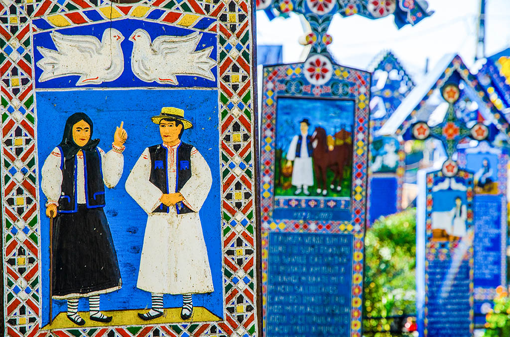 歡樂墓園 Merry Cemetery Săpânța 馬拉穆雷什 Maramureș