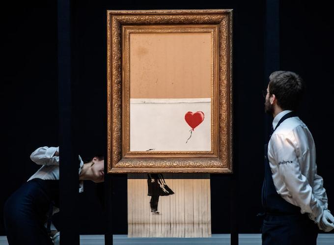 Bansky's Shredded Painting Sells For $25Million