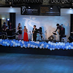 Moderátoři plesu - Zuzana Neumitková a Jakub Vavruška