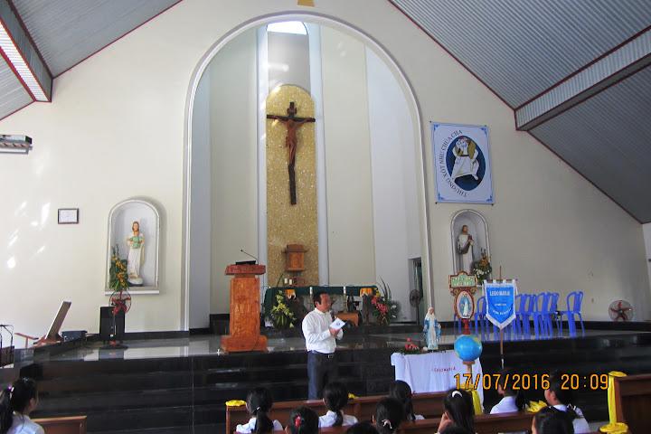 Hình ảnh ngày hội Junior của hai giáo hạt Cam Ranh và Cam Lâm tại giáo xứ Phú Phong vào ngày 18/7/2016