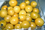 Sungold cherry tomatoes.