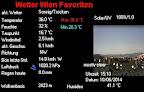 Es wird immer heißer, bereits um 15:10 Uhr ein neuer Spitzenwert für Favoriten mit 36°C #Wien #Favoriten #Hitzwelle