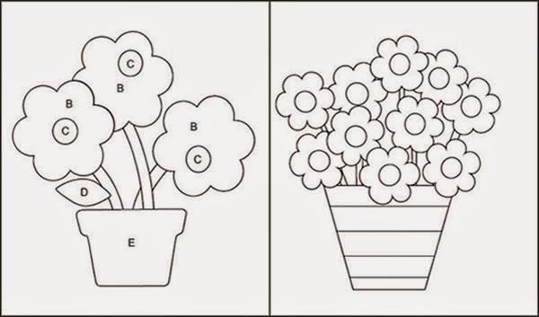 Molde vasos de planta