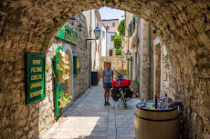 The old town of Rab.