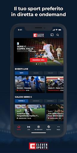 Eleven Sports Italia screenshot 1
