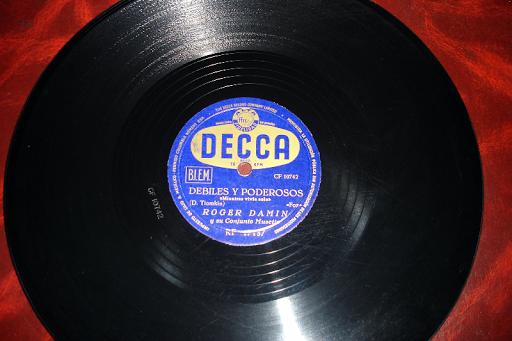 ROGER DAMIN.. disco de pizarra
