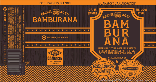 Oskar Blues & Cigar City Collaborate On Bamburana Cans
