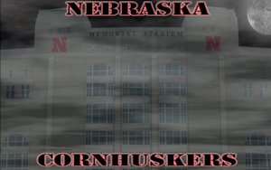 Nebraska Cornhuskers Memorial stadium Dark Moon