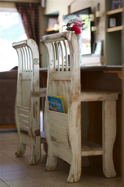Bar Stools from crib