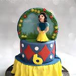 Double sided princess and superheroes cake 7.jpg