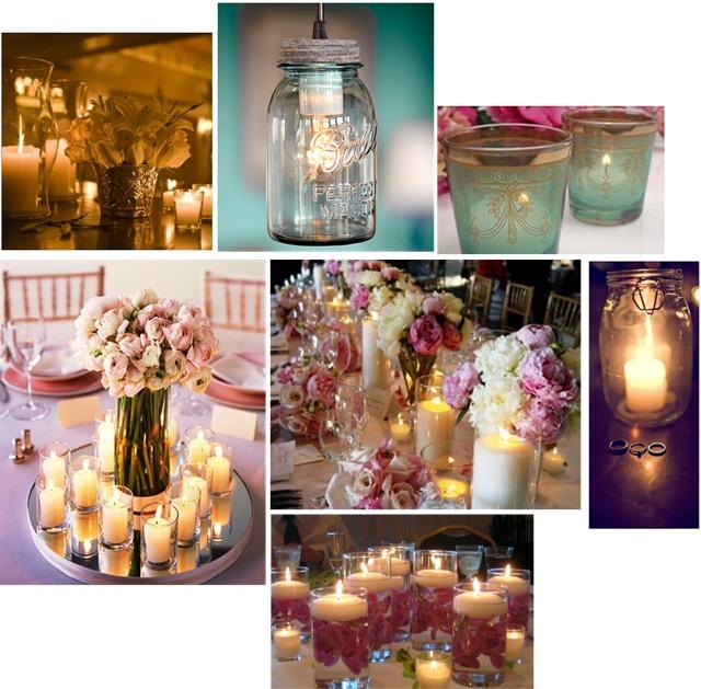 Bodas cucas decoraci n con velas para tu boda - Como fabricar velas ...