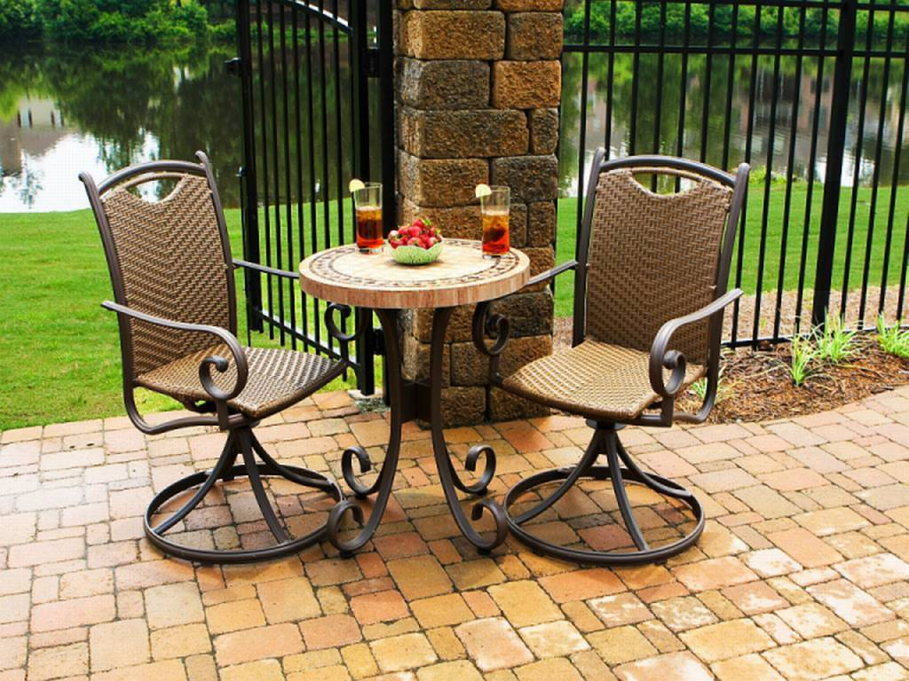 Hometary Bistro Patio Furniture