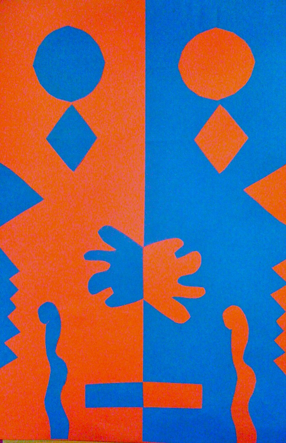 Positive Negative Art Lesson http://kidsartmarket.blogspot.com/2011/03/positive-and-negative-space-collage.html