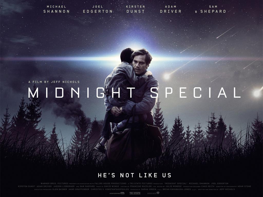 O Εκλεκτός της Νύχτας (Midnight Special) Wallpaper
