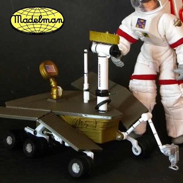 Rover Perseverance en Marte, versión Madelman