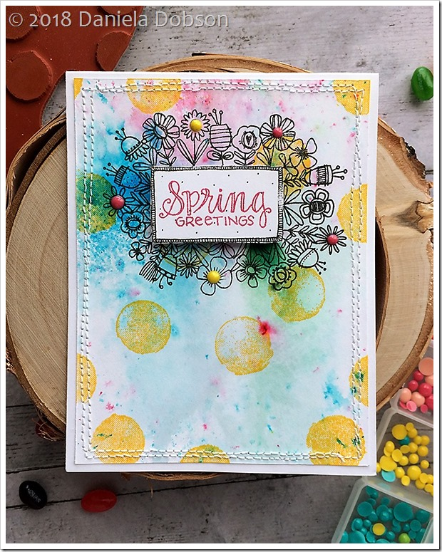 spring greetings by Daniela Dobson