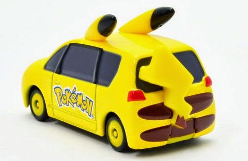 Dream Tomica 143 Mini Pikachu Car với nước sơn bóng bẩy, chất liệu an toàn cho bé