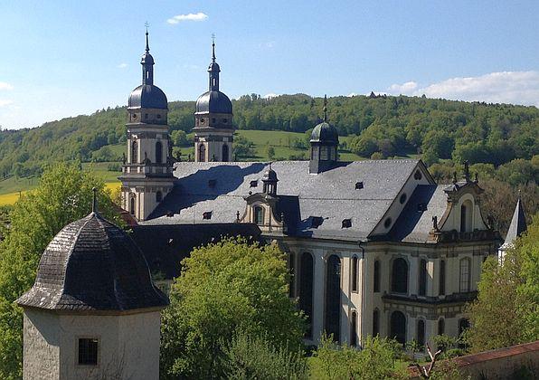 Blick auf das Kloster Schöntal