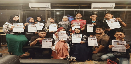 Kolaborasi Mahasiswa PAI Bersama Mahasiswa TBI Belajar Bersama Mr. Christopher Vizz Carrondo, M.A.Db