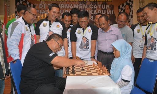 Turnamen Catur Sukabumi Bupati Cup Tingkat Pelajar