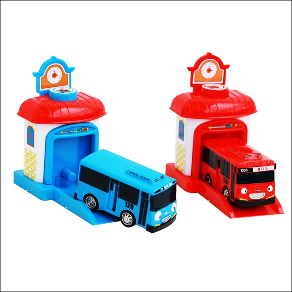 Jual Mainan Tayo The Little Bus With Garage (4 Warna) Murah