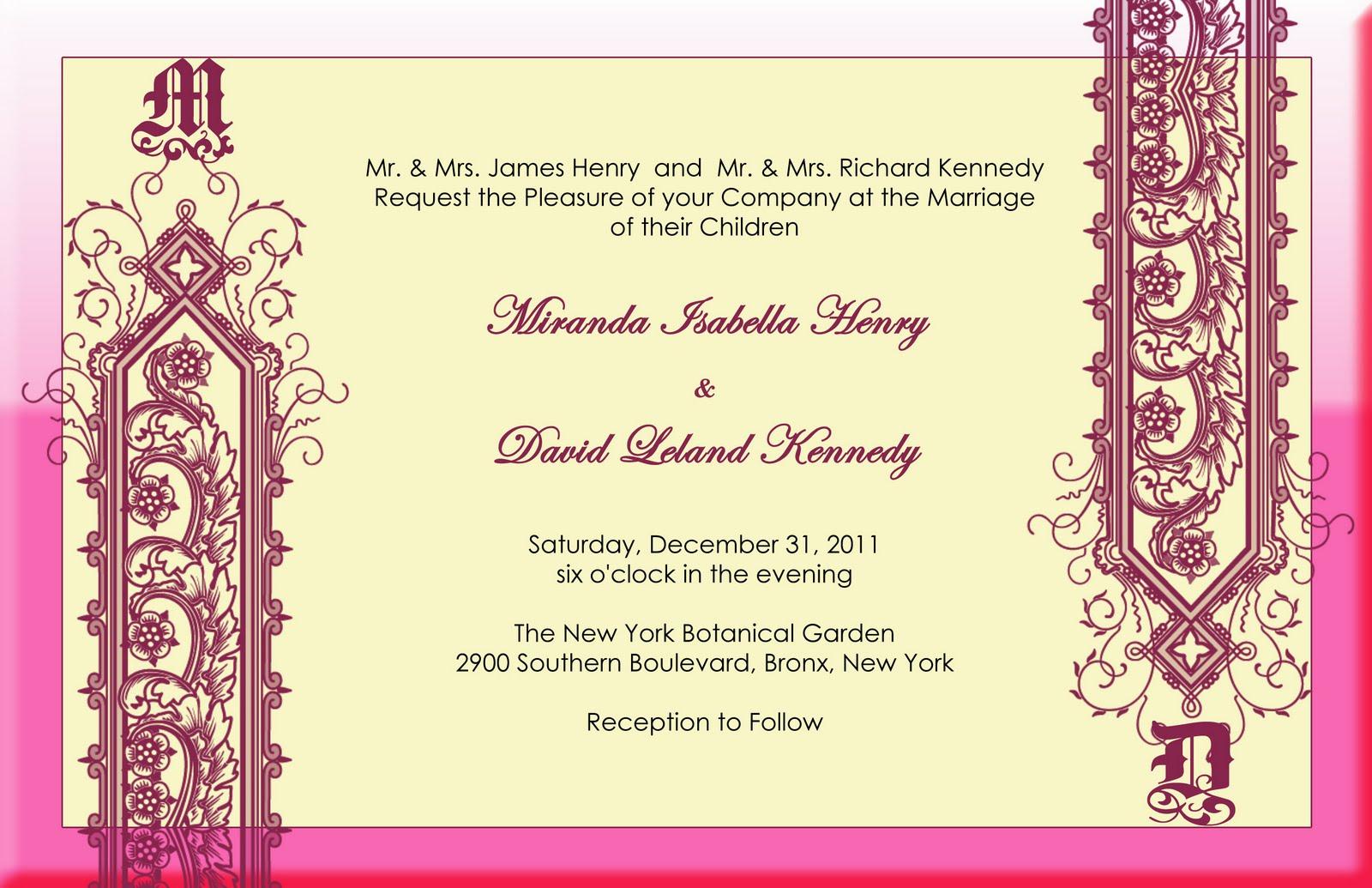 Wedding Invitation In Hindi: Felicia's Blog: Modern Indian Wedding