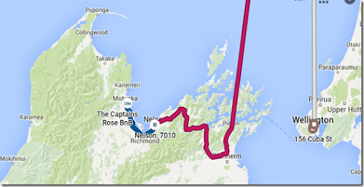 10. Day of 24 in New Zealand: Off to the South Island