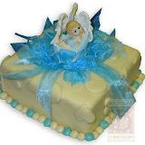"""28. kép: Ünnepi torták - """"Gólyahozta"""" baba figurás torta"""