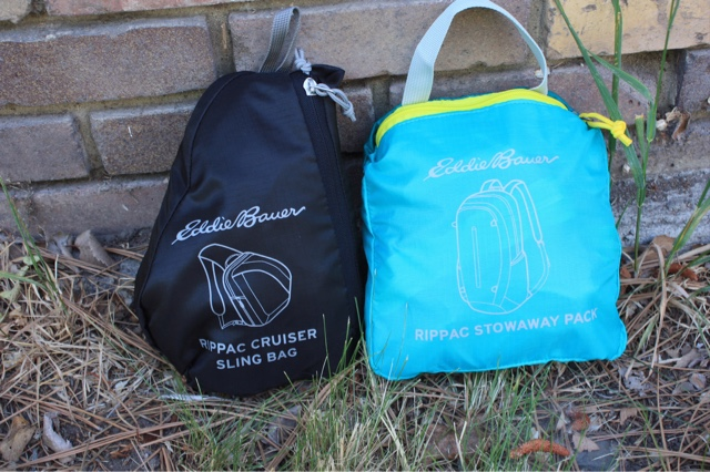 Review Eddie Bauer Stowaway Backpacks  Yellow Van Travels