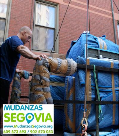 Mudanzas a Ferias de Muestras en Segovia
