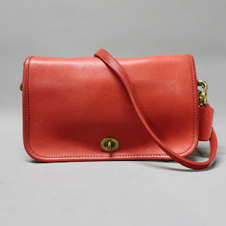 Coach Classic Vintage Red Crossbody Bag