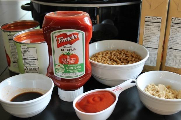 beef macaroni soup ingredients