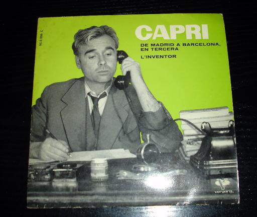 CAPRI..de madrid a barcelona en