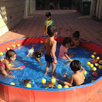 Water Play enjoyed by Play Group Section ( 2016-17) at Witty World, Bangur Nagar