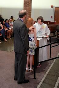Sarah remembers her baptism