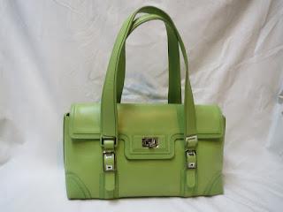 Lambertson Truex Lime Shoulder Bag