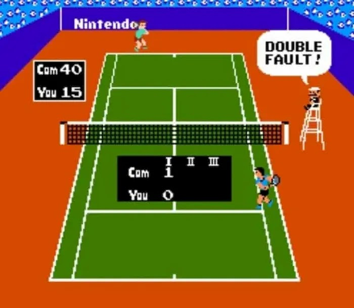 Best NES Games of All Time Tennis