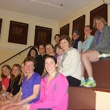 Harvard Club and Newton Squash teams on finals night