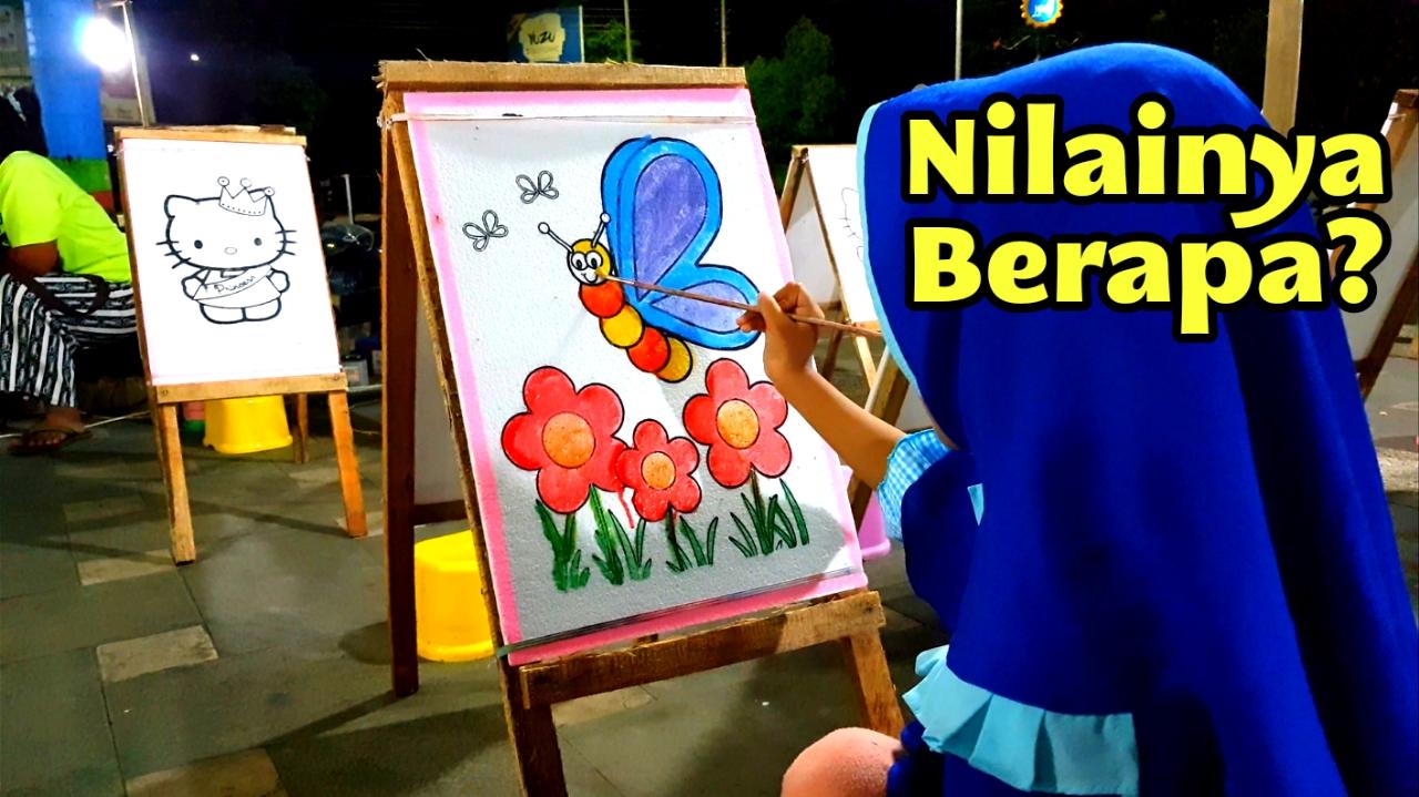 Nafis Wq Mewarnai Gradasi Kupu Kupu Dengan Cat Air Coloring