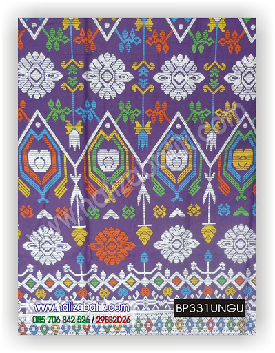 Model Baju Terbaru, Batik Modern, Jual Baju Batik, BP331 UNGU