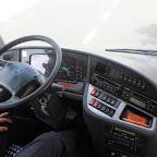 Het dashboard van de Mercedes Tourino van Dino bus