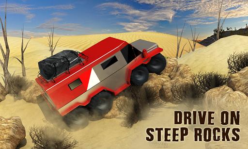 8 휠러 러시아어 트럭 3D 시뮬레이션