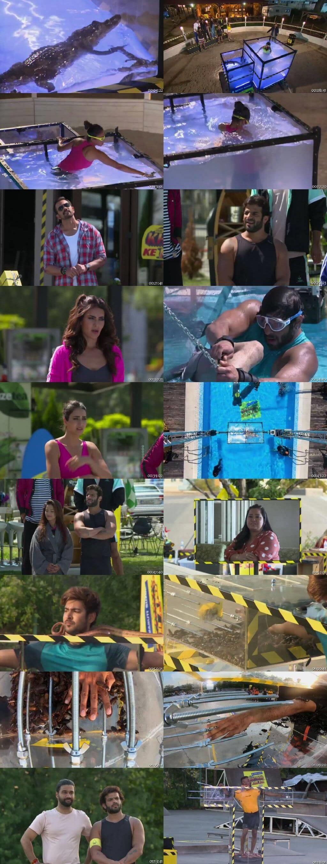 Screenshots Of Hindi Show Fear Factor Khatron Ke Khiladi Season 10 2020 28th March Episode 11 300MB 480P HD