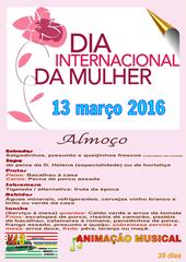 Almoco Dia Mulher 2016